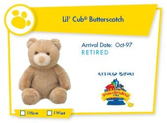 Lil' Cub Butterscotch