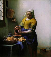 Vermeer - The Milkmaid
