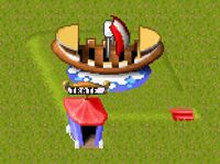 Theme park Pirate Boat