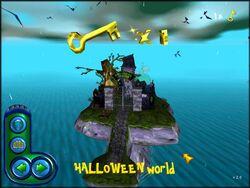Theme park world Halloween World