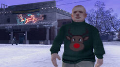 Jimmy reindeer sweater