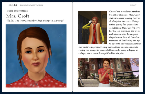 Mrs. Croft's Yearbook