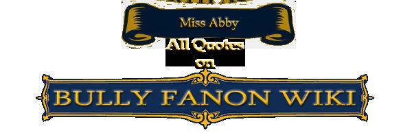 AbbyQuotes