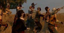 Fresh zombie horde