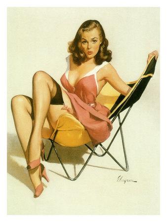 File:Pin-up-girl-beach-chair.jpg