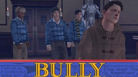 "Bully (PS4 version) - mission ""Tagging"""