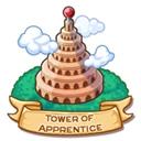 Location tower of apprentice icon