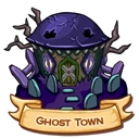 Location ghost town icon