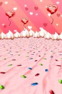 Valentine's Event Background
