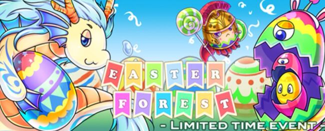 """""""Easter Forest"""" event banner"""