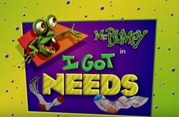 I got needs title card