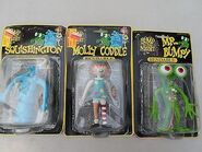 BITN bendable figures squish moll and bumpy