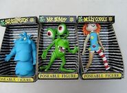 BITN posable figures molly squishy and bumpy