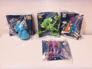 Bump in the Night Subway toys complete set NIB