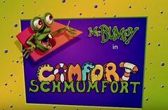 Comfort schumfort title