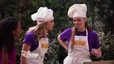 Bunk'd S2, Ep 12 Food Fight Zuri Starts a Food Fight Mid Season Premiere Exclusive Clip