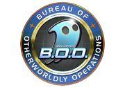B.O.O. Bureau of Otherworldly Operations logo
