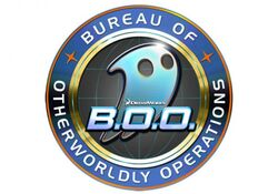B.O.O. Bureau of Otherworldly Operations logo