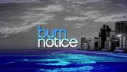 Burn notice title card