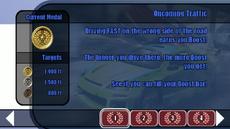 Offensive Driving 101 lesson 01 - Oncoming Traffic - B2 menu