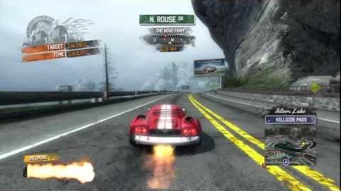 Burnout Paradise - 500 GT Burning Route