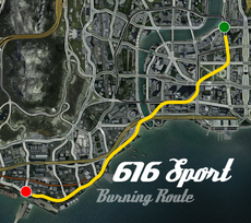 616 Sport Burning Route