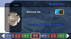 Championship stage 07 - The Miracle Mile - B2 menu