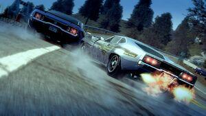 Fastback overtake