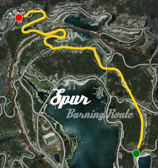 Spur Burning Route