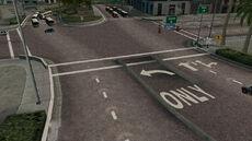 Crash zone 01 - Down Hill Demolition - intersection