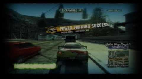 Burnout Paradise - How to Power Park (Parallel Parking)