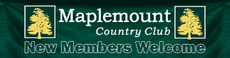 Maplemount Country Club banner