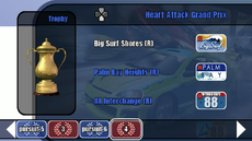 Custom Series Championship stage 07 - Heart Attack Grand Prix - B2 menu