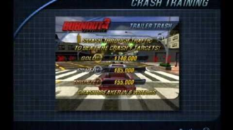 Burnout 3 Crash Training