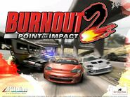 Burnout 2 Point of Impact Promo Poster