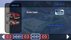 Custom Series Championship stage 06 - Pursuit 6 - B2 menu