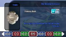 Championship stage 11 - The Crystal Freeway - B2 menu