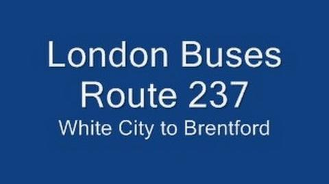 London Buses Route 237