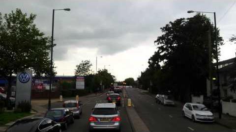 Route 681 HD Full Visual Teddington School-Hounslow Bus Station