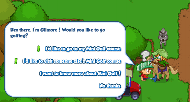Bushwhacker mini golf