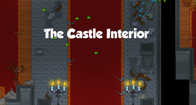 The Castle Interior Banner