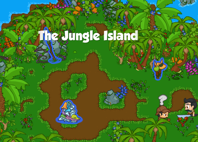 The Jungle Island Banner