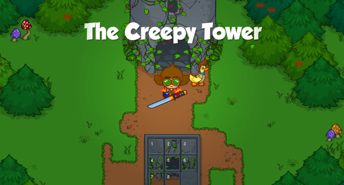 The Creepy Tower Banner