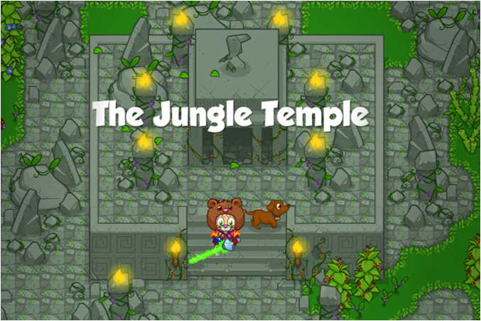 The Jungle Temple Banner