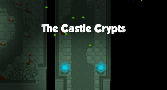 The Castle Crypts Banner