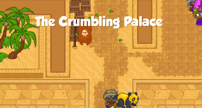 The Crumbling Palace Banner