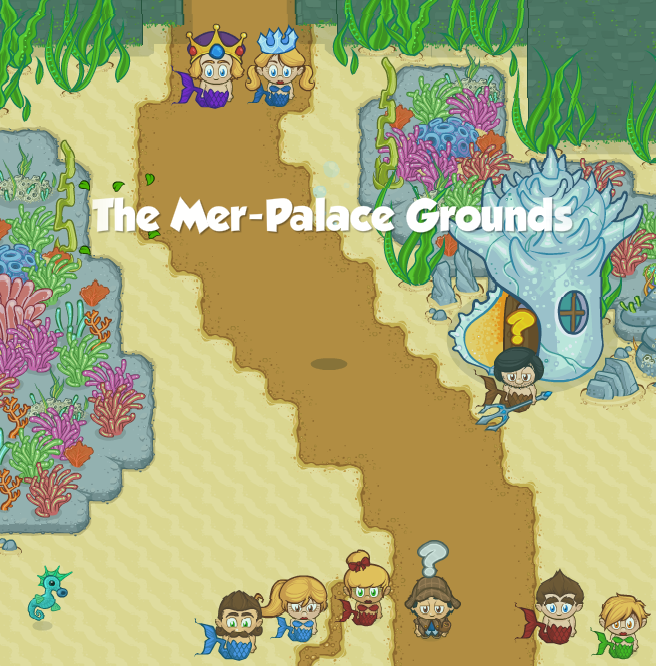 The Mer-Palace Grounds