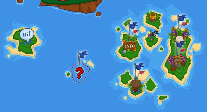 Island three banner