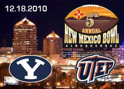 New Mexico Bowl 2010