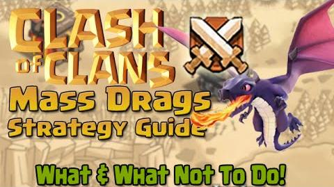 Clash of Clans Mass Dragon Strategy Guide!!!